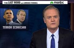 lawrence odonnell & co. semi-debunk george w. bush terrorism revisionism realism schism